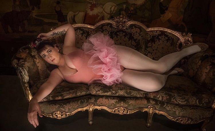 virginia jones photographed by chivo ballerina