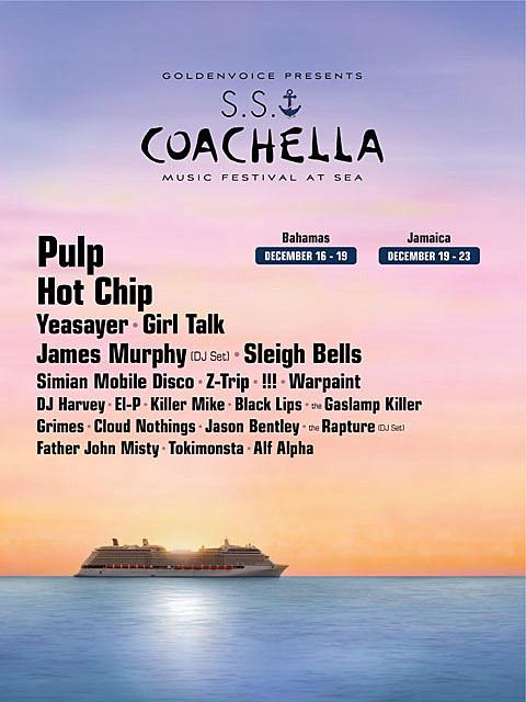 S.S. Coachella Poster